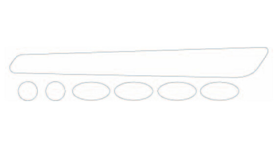 BBB BBP-50/51 Rahmenschutzsticker